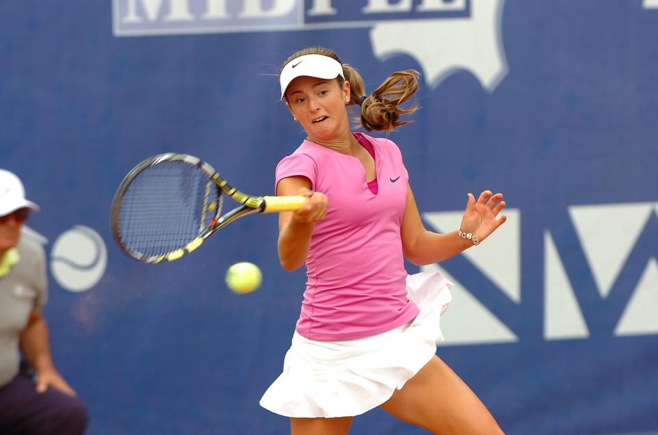 La statunitense Catherine Bellis, finalista nel 2014 a Santa Croce e già n.211 WTA (1)-2